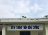 Bảng tên mới cho các điểm trường của Trường TH&THCS Đại Sơn