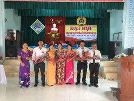 BCH Công đoàn Trường TH&THCS Đại Sơn nhiệm kì 2019-2014