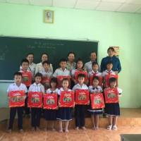 Trung thu về với các học sinh ở trường thôn của Trường Th&THCS Đại Sơn